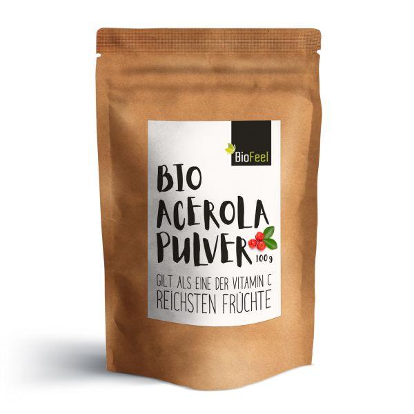 Bio Acerola Pulver, 100g