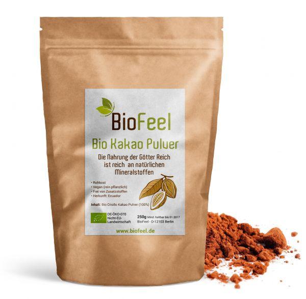 Bio Criollo Kakao Pulver, 250g