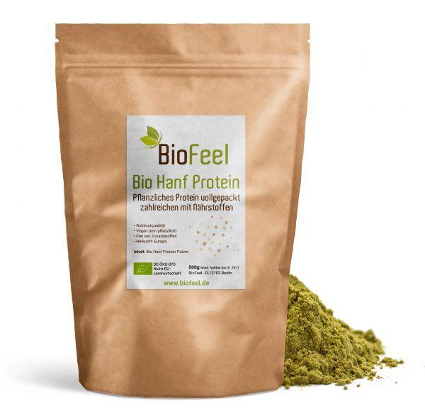 Bio Hanf Protein Pulver, 500g