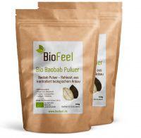 Bio Baobab Pulver, 200g (2x100g)