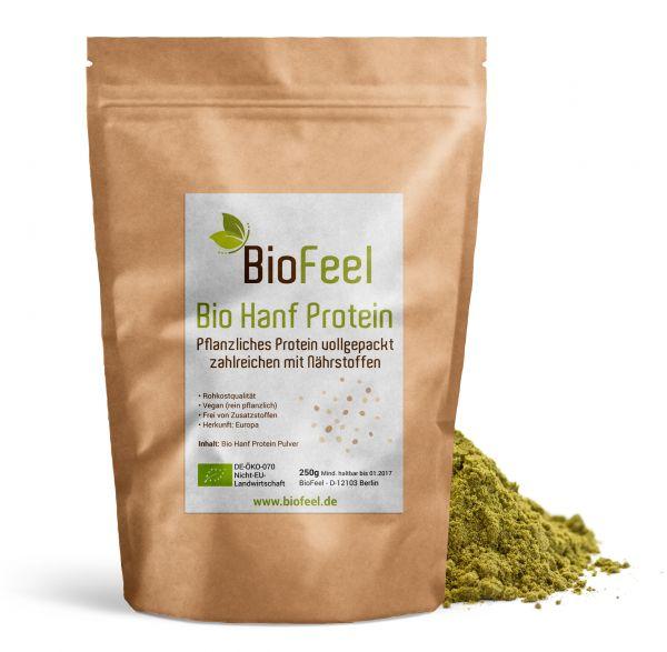 Bio Hanf Protein Pulver, 250g
