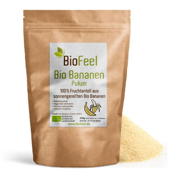 Bio BananenPulver, 250g