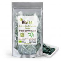 Bio Spirulina / Chlorella Mix Kapseln, 180 Stk., 550mg